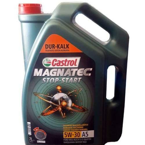 Castrol Magnatec A5 5W-30 7 Litre 2019 DOLUM TARİHLİDİR