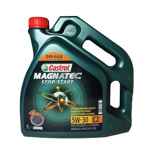 CASTROL MAGNETEC 5W30 C2 4 LİTRE